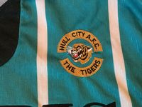 Global Classic Football Shirts | 1993 Hull City Match Worn Vintage Old Soccer Jerseys